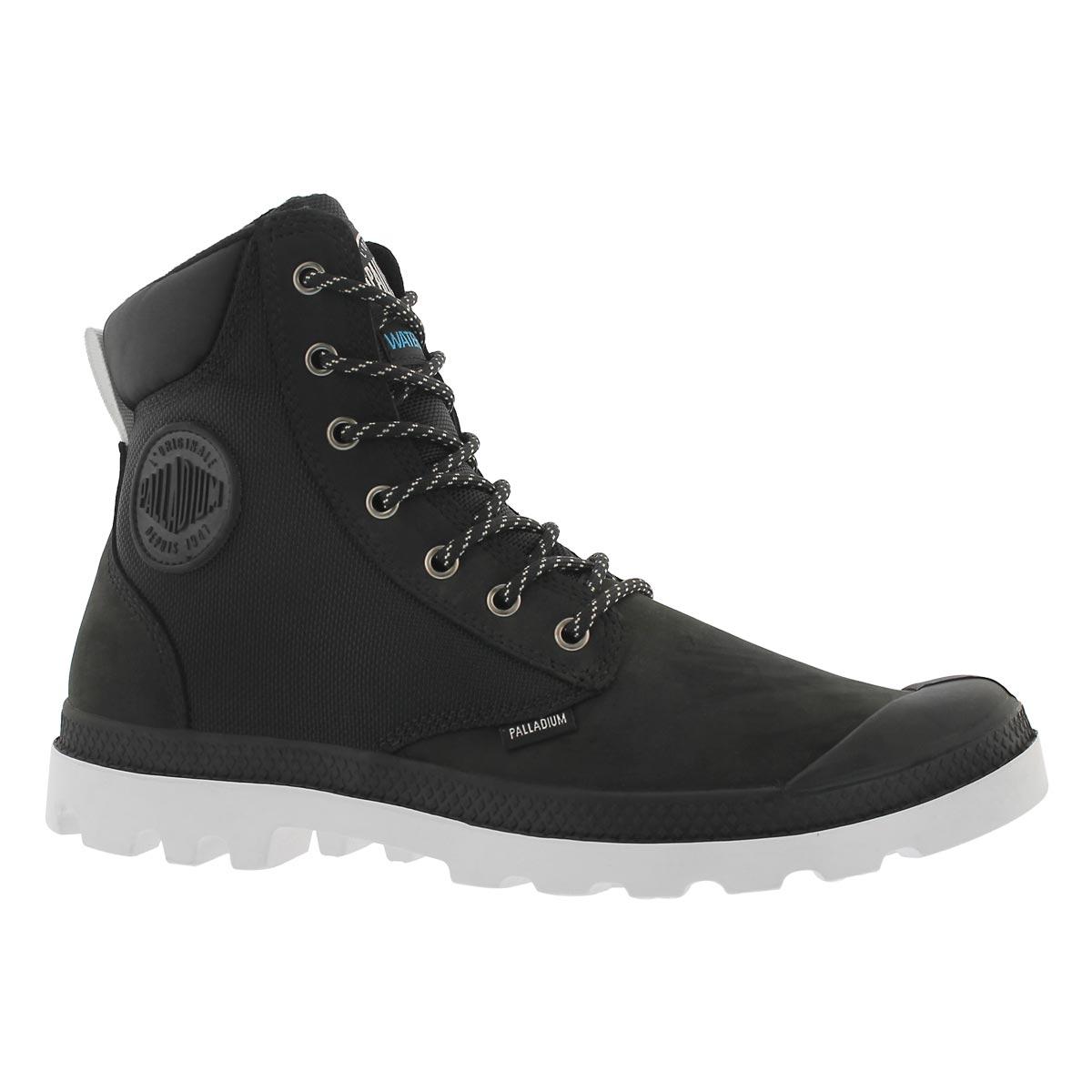 Men's PAMPA SPORT CUFF blk/wht waterproof boots
