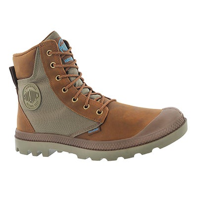 Mns Pampa Sport Cuff brown wtrprf boot