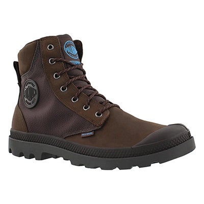 Palladium Men's PAMPA SPORT chocolate waterproof boots
