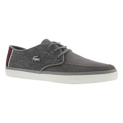 Lacoste Men's SEVRIN 316 3 dark grey casual sneakers