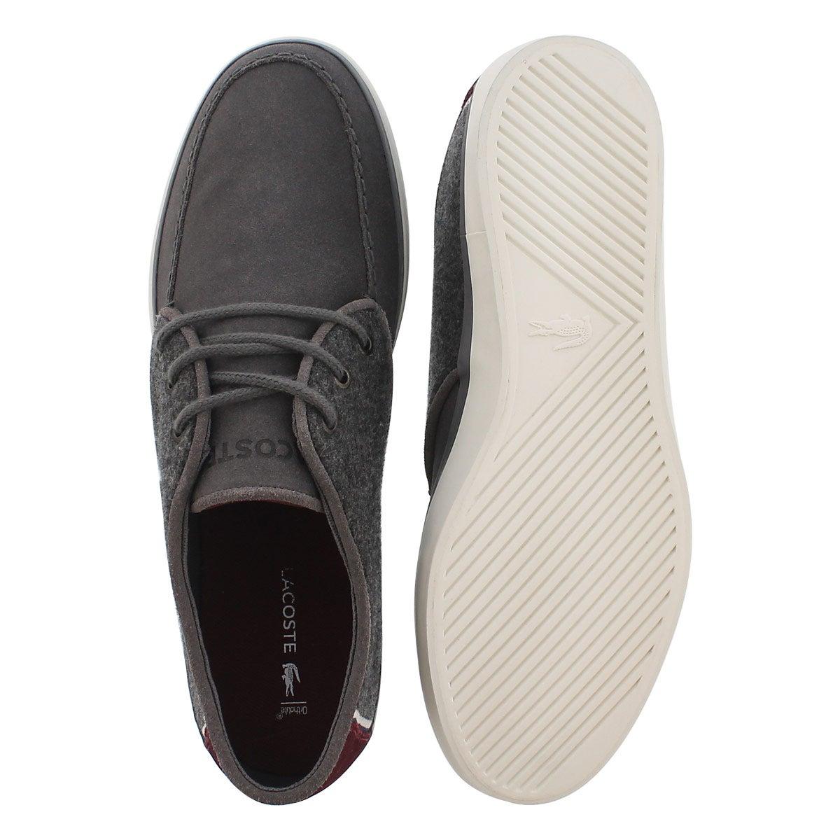 Mns Sevrin 316 3 dk grey casual sneaker