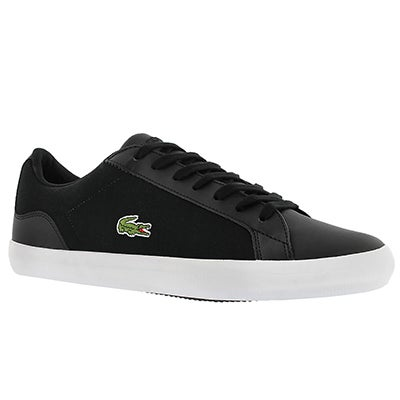 Lacoste Men's LEROND 316 black lace up sneakers
