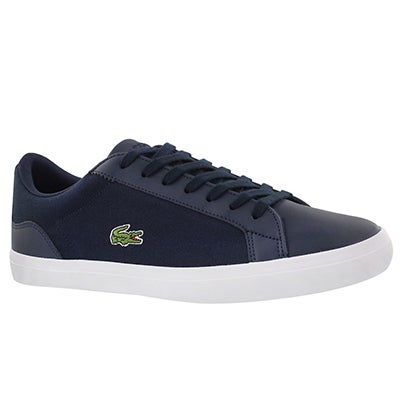 Lacoste Men's LEROND 316 navy lace up sneakers