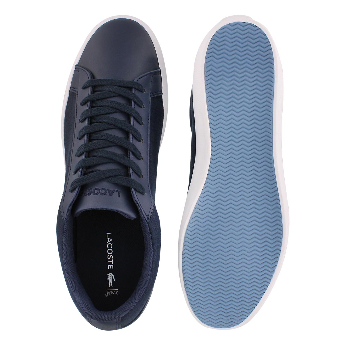Mns Lerond 316 navy lace up sneaker