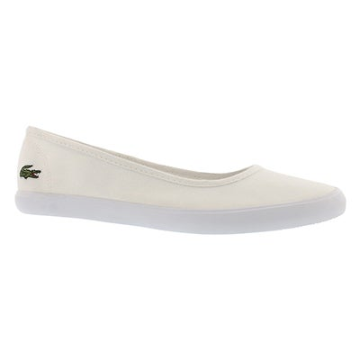 Lds Marthe white casual flat