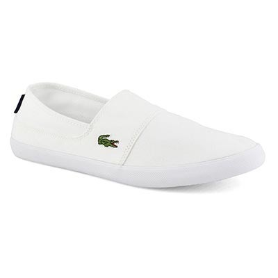 Mns Marice BL 2 white casual slip on