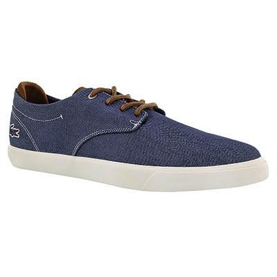 Mns Espere317 nvy/dk brn lace up sneaker