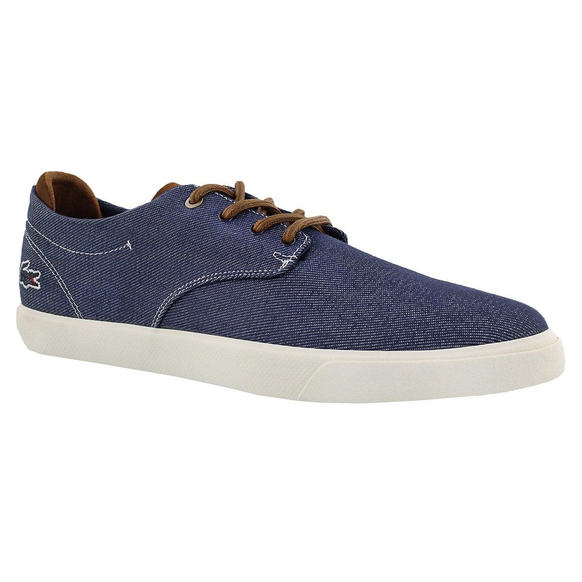 Men's ESPERE 317 navy/dark brown lace up sneakers