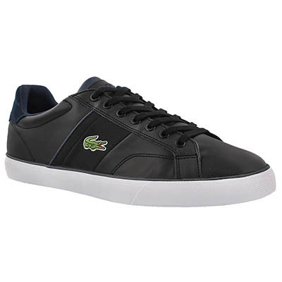 Mns Fairlead 317 black lace up sneaker