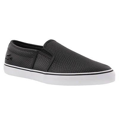 Lds Gazon 317 blk slip on sneaker