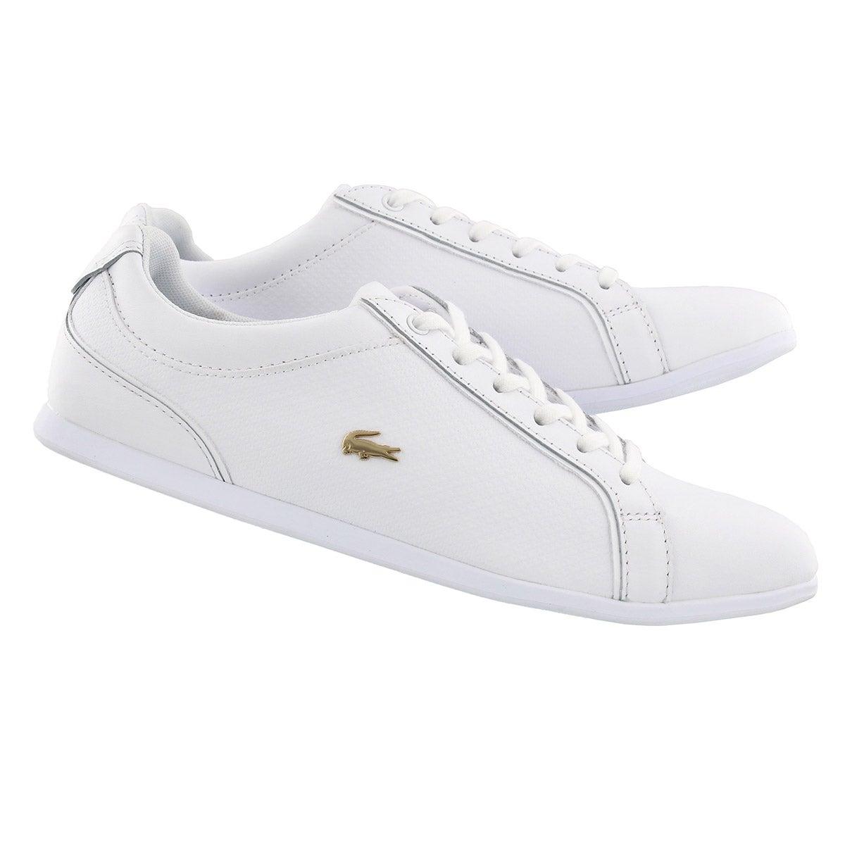 Lds Rey Lace 317 white fashion sneaker