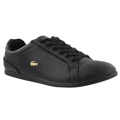 Lds Rey Lace 317 black fashion sneaker