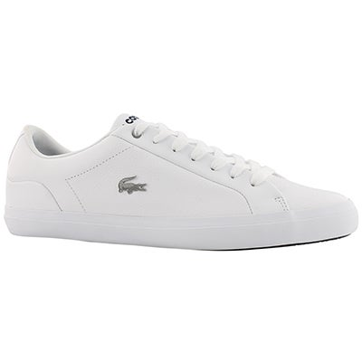 Mns Lerond 118 wht/nvy lace up sneaker