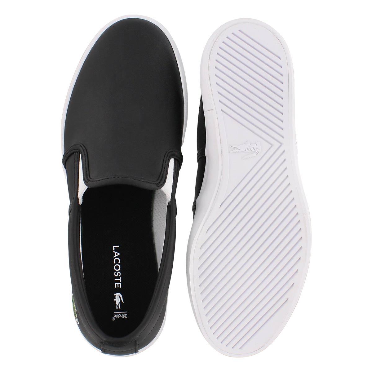 Lds Tatalya 118 1 2 P blk/wht loafer