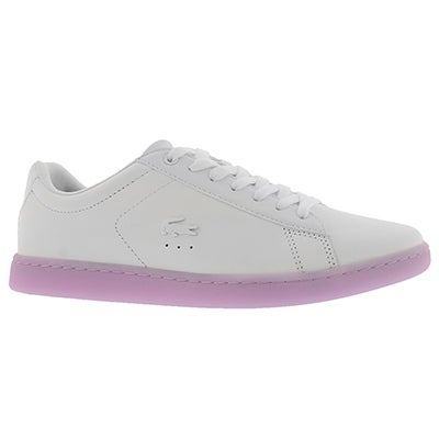 Lds Carnaby EVO 118 3 wht/lt pur sneaker