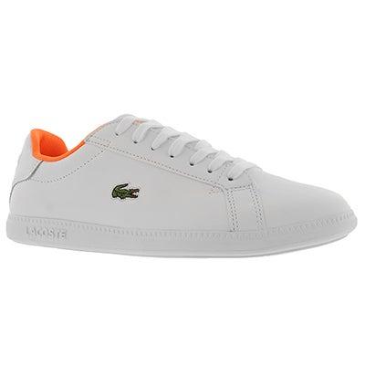 Lds Graduate 118 1 wht/wht sneaker