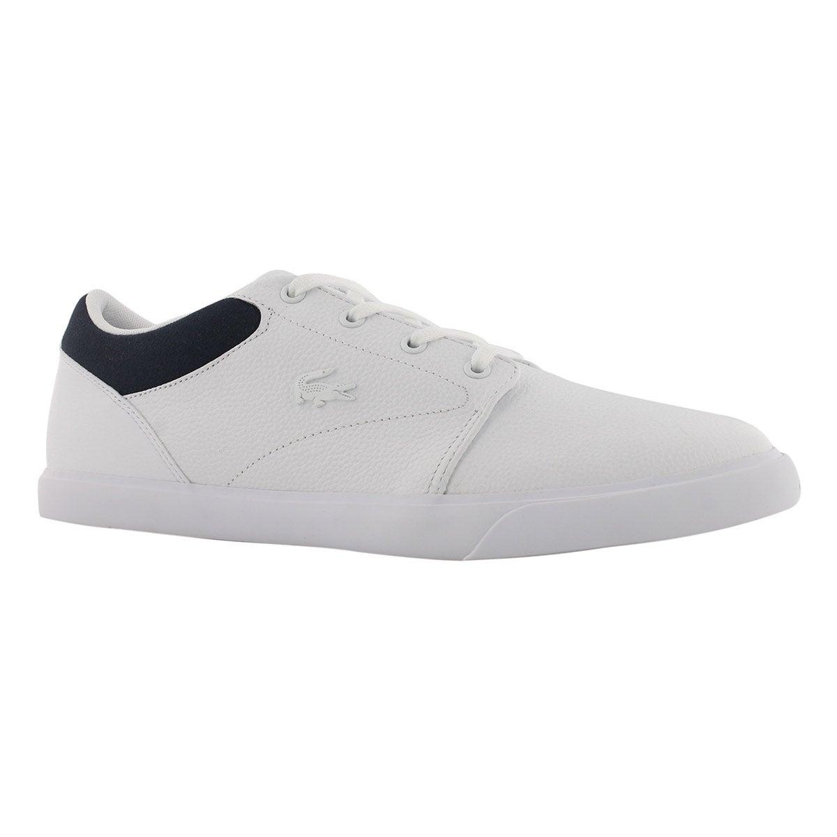 Men's MINZAH 318 white/navy fashion sneaker
