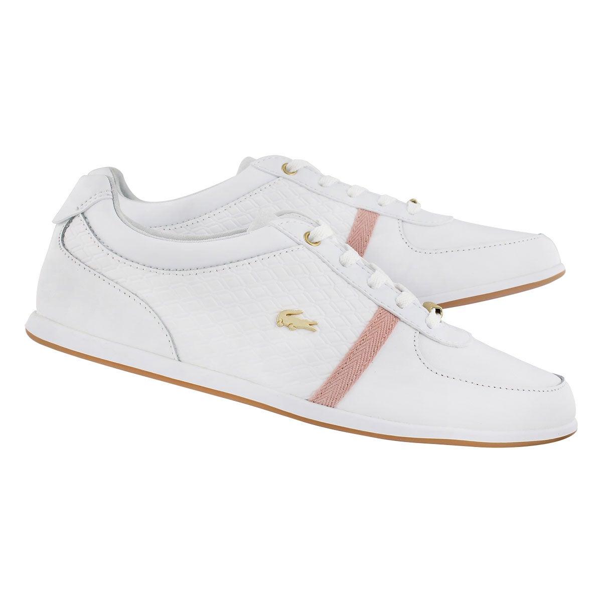 Lds ReySport318 wht/pnk fashion sneakr