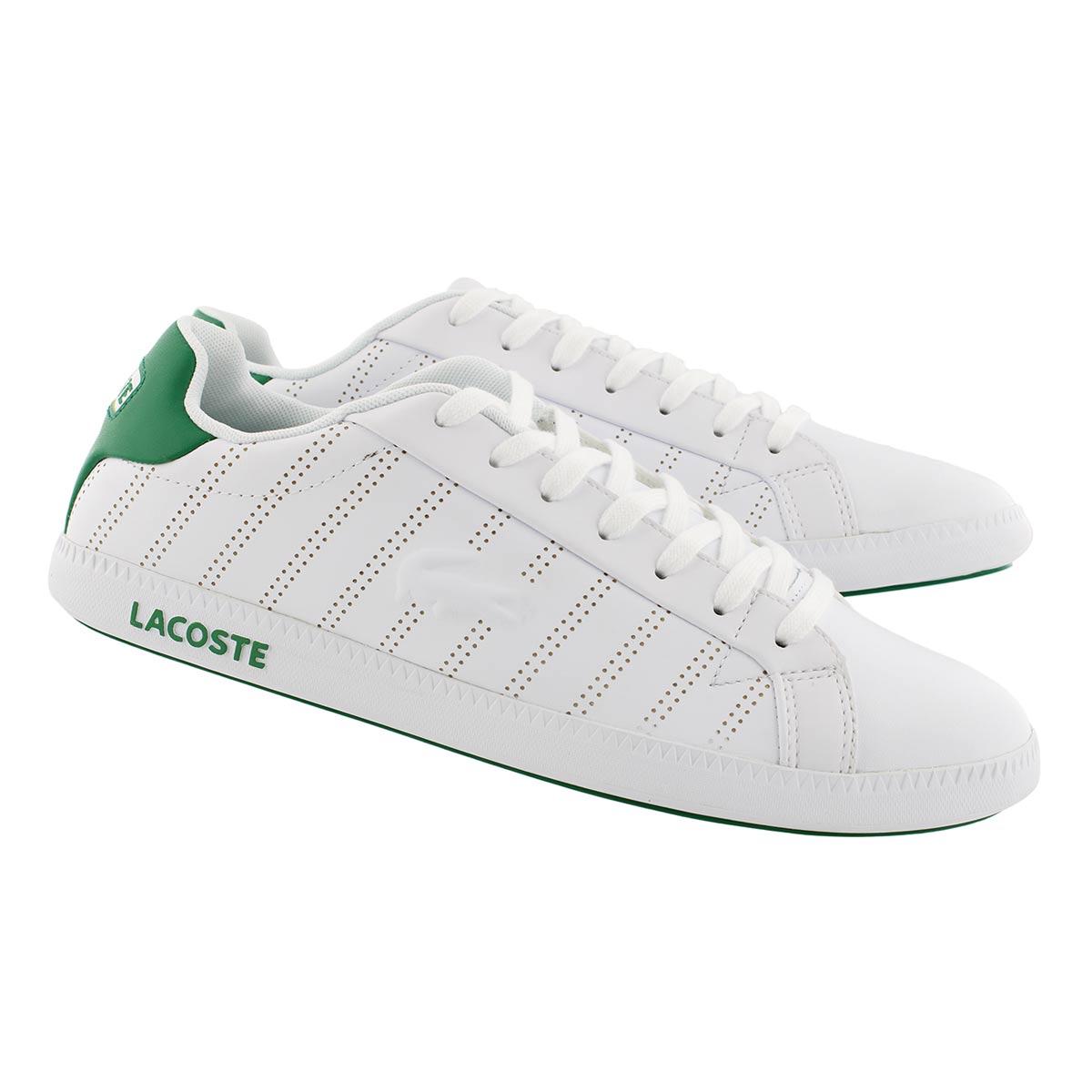 Mns Graduate 318 1 wht/grn sneaker