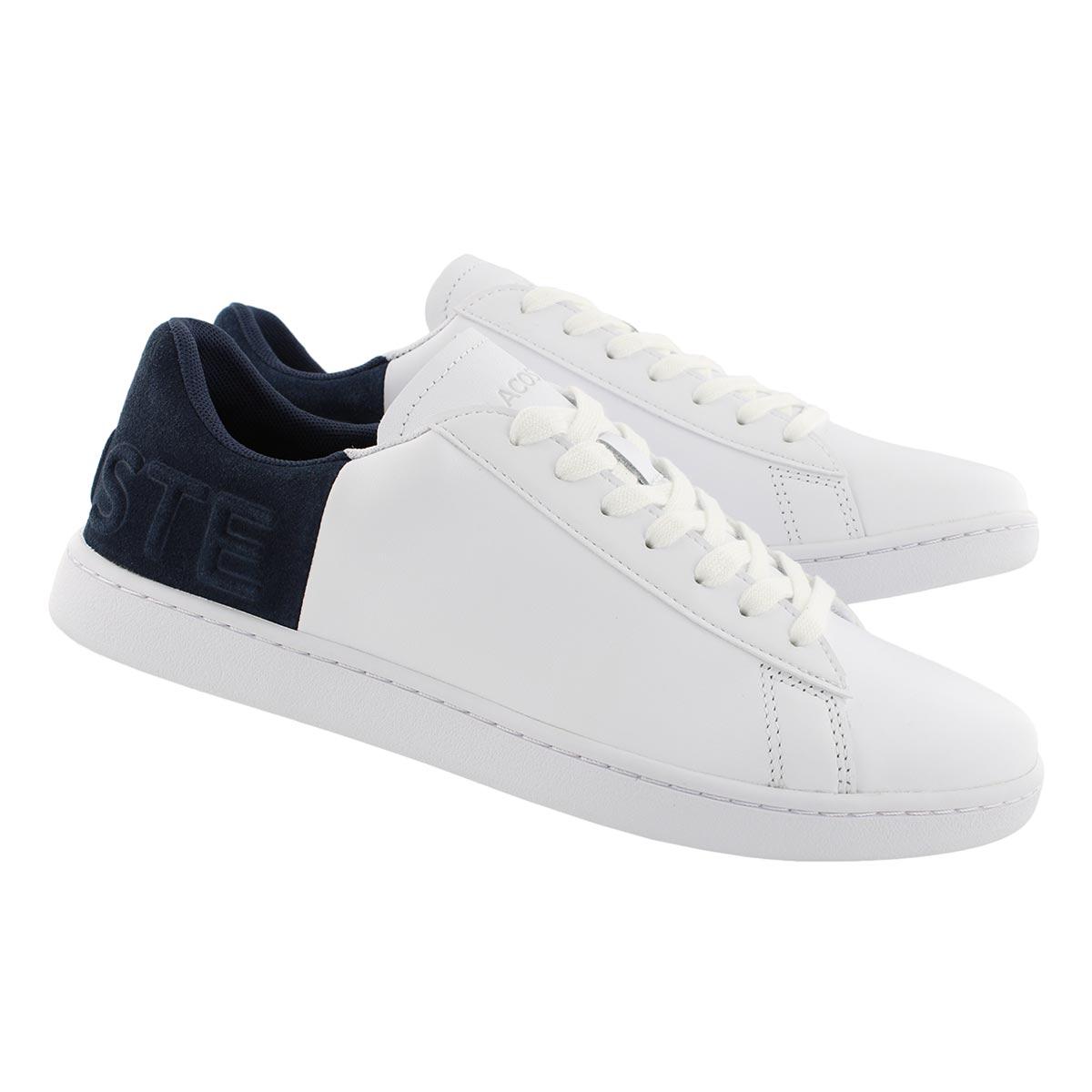 Lds CarnabyEVO318 wht/nvy slipon sneaker