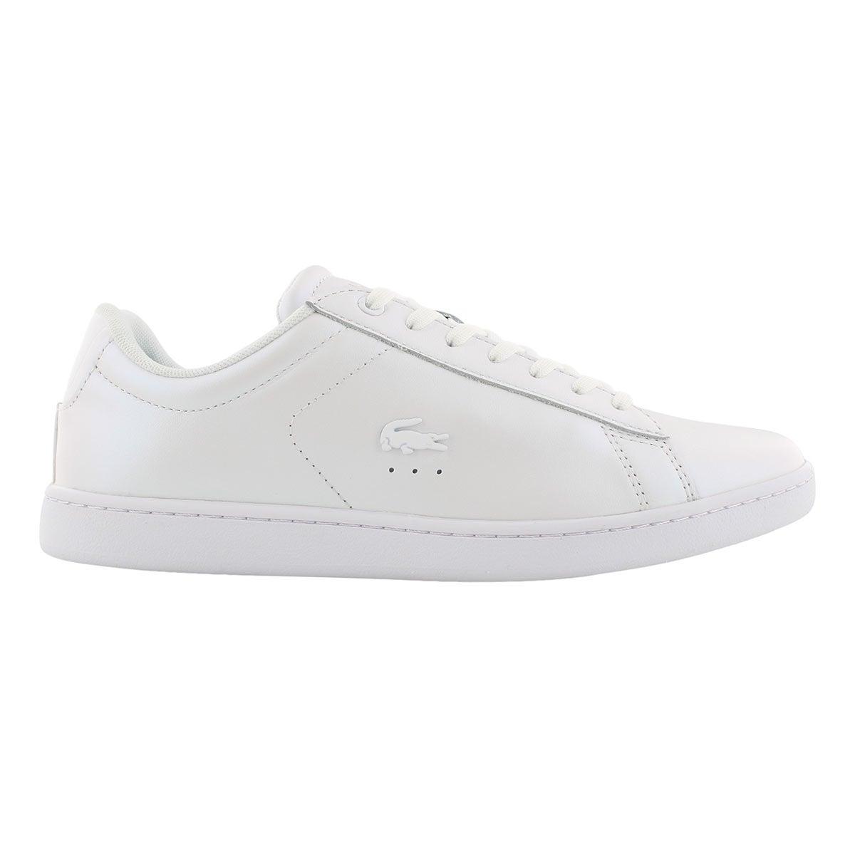 Lds CarnabyEVO318 wht/wht fashion sneakr