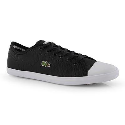 Espa. lacée ZianeSneaker119 1,blc/nr,fem