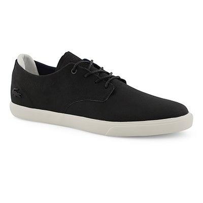 Mns Esparre 119 3 blk/wht laceup sneaker