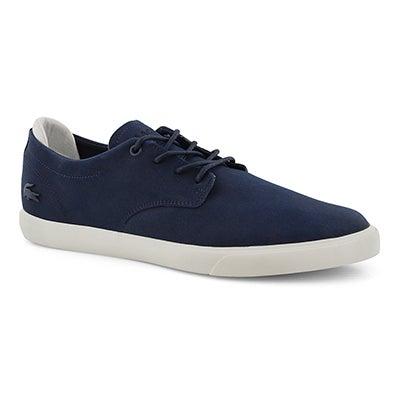 Mns Esparre 119 3 nvy/wht laceup sneaker