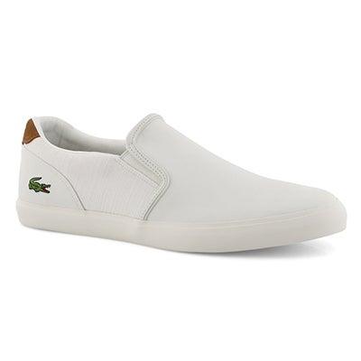 Mns Joueur Slip 119 2 white slip on