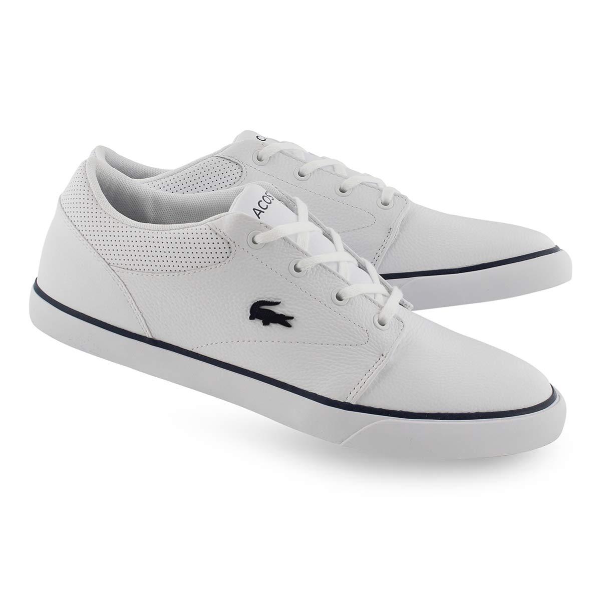 Mns Minzah 119 wht/nvy lace up sneaker