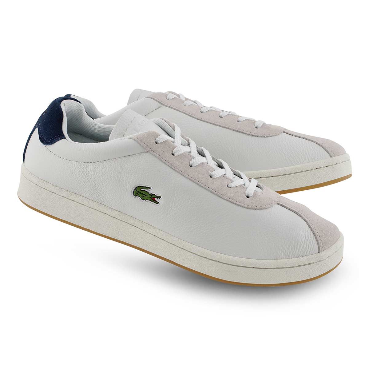 Mns Masters 119 3 wht/nvy laceup sneaker