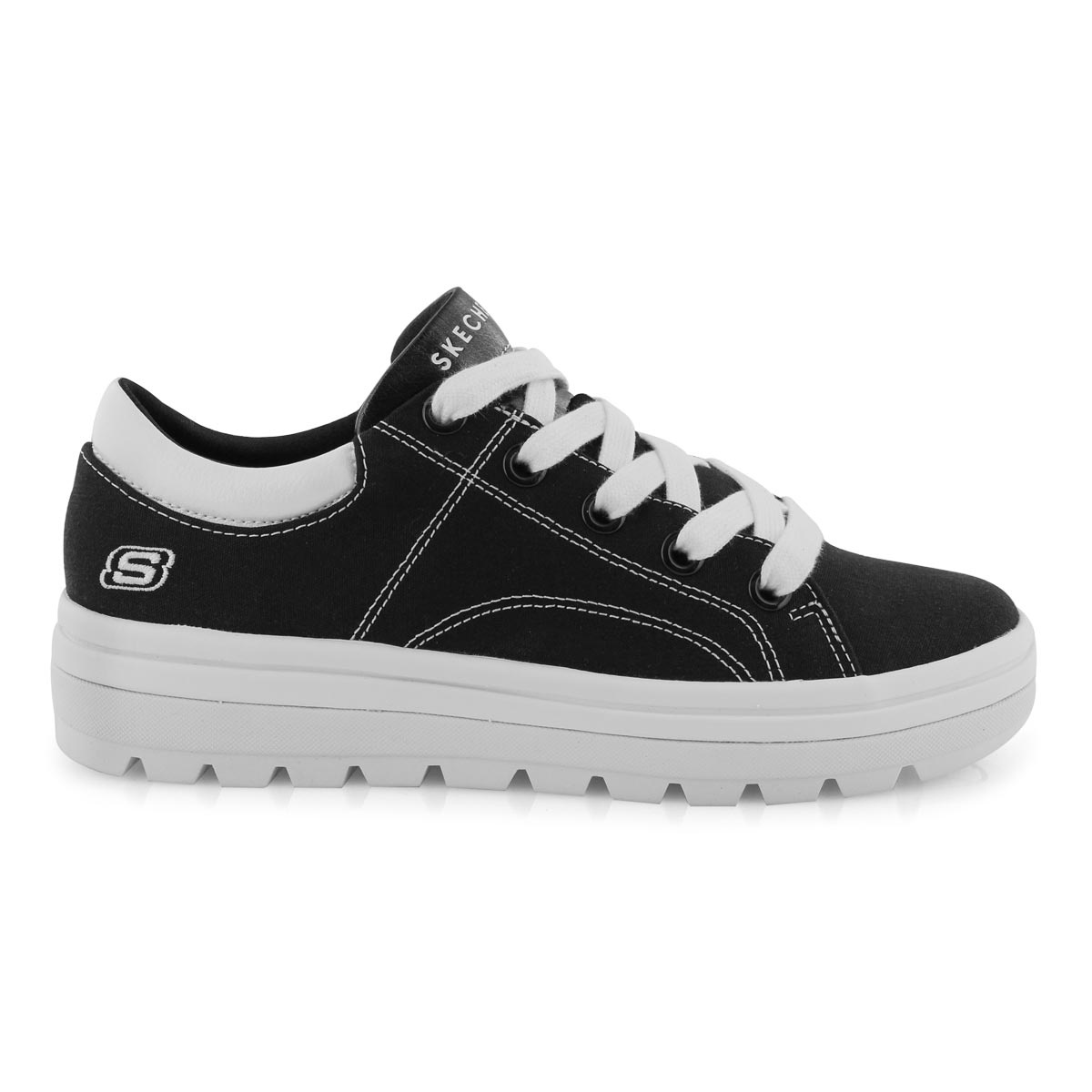 Lds Street Cleats 2 blk fashion snkr