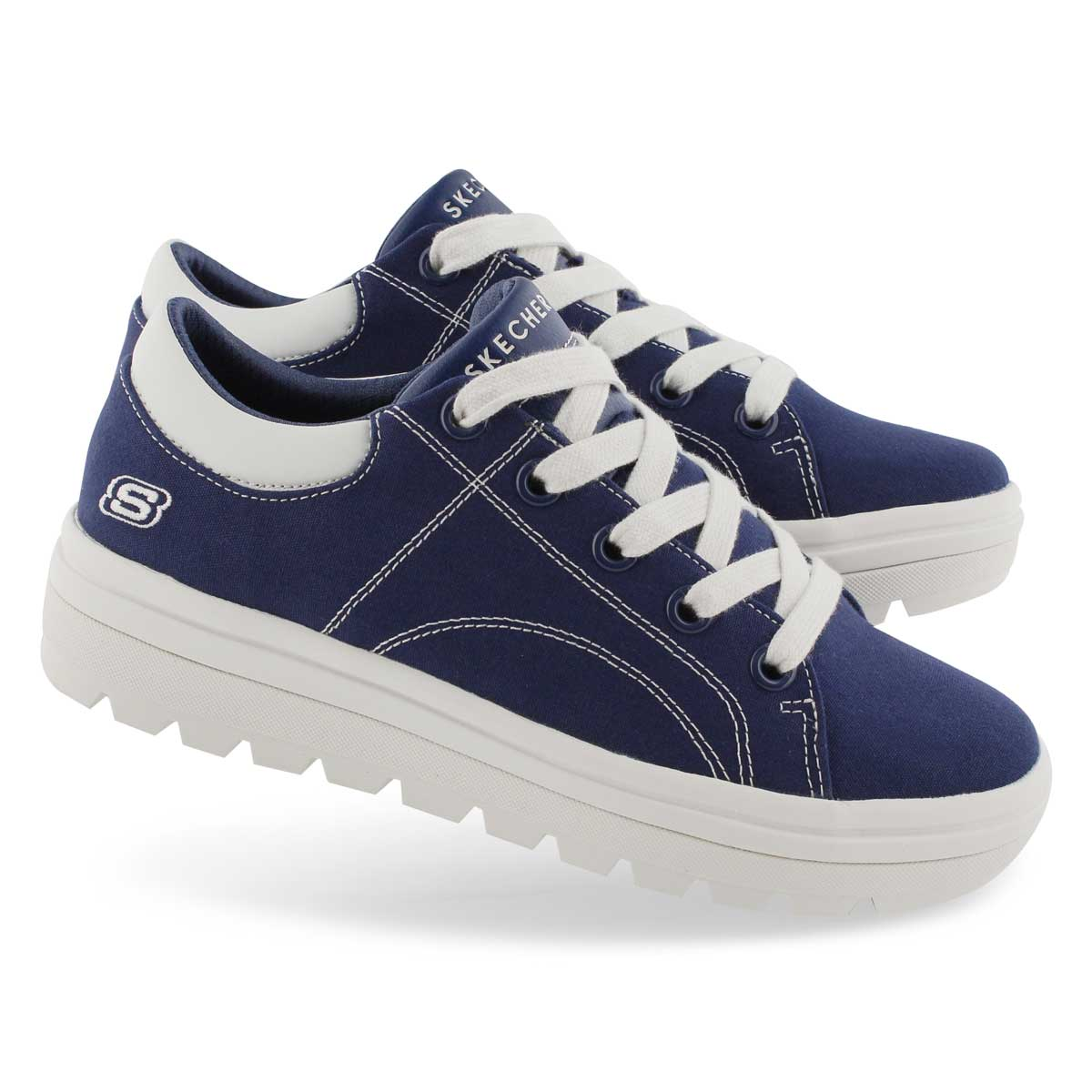 Lds Street Cleats 2 nvy fashion snkr
