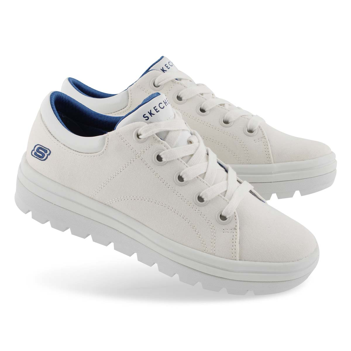 Lds Street Cleats 2 wht fashion snkr