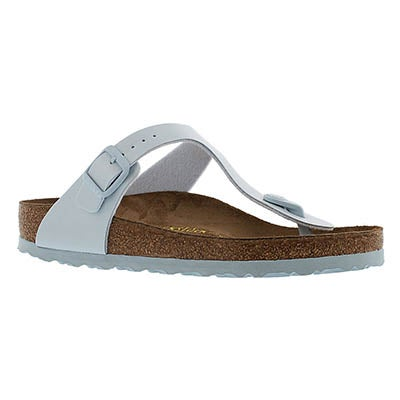 Birkenstock Women's GIZEH baby blue thong sandals