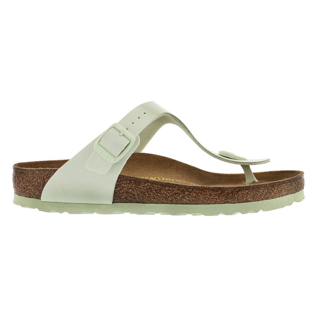 Lds Gizeh mint thong sandal