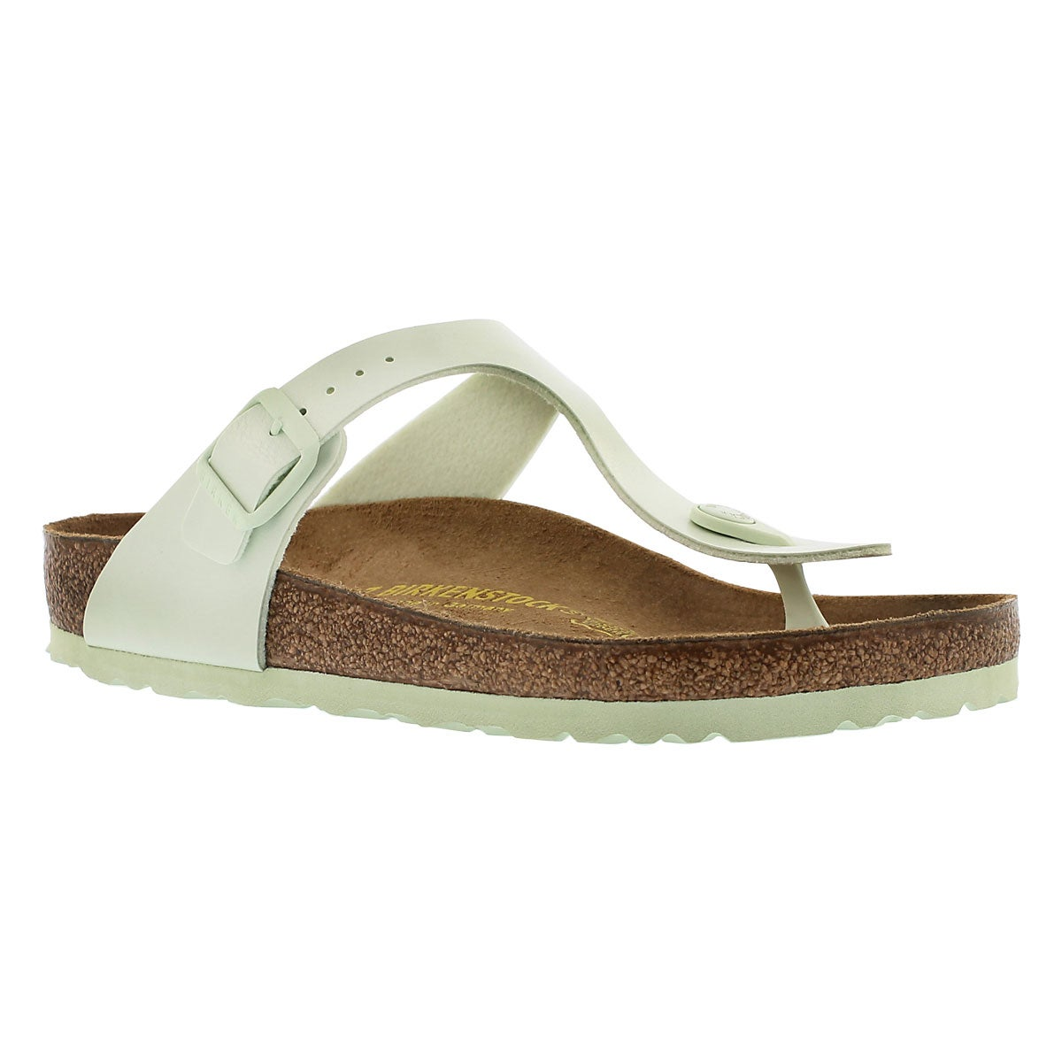 Women's GIZEH mint thong sandals