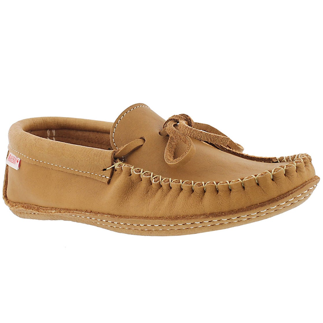 Mns cork double sole unlined moccasin