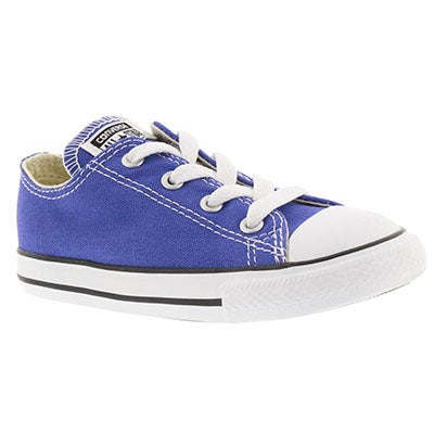 Inf All Star periwinkle low cut sneaker