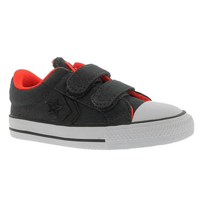 Inf Star Player EV 3V blk/org sneaker