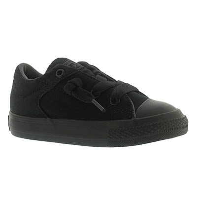 Infant High Street black low cut sneaker