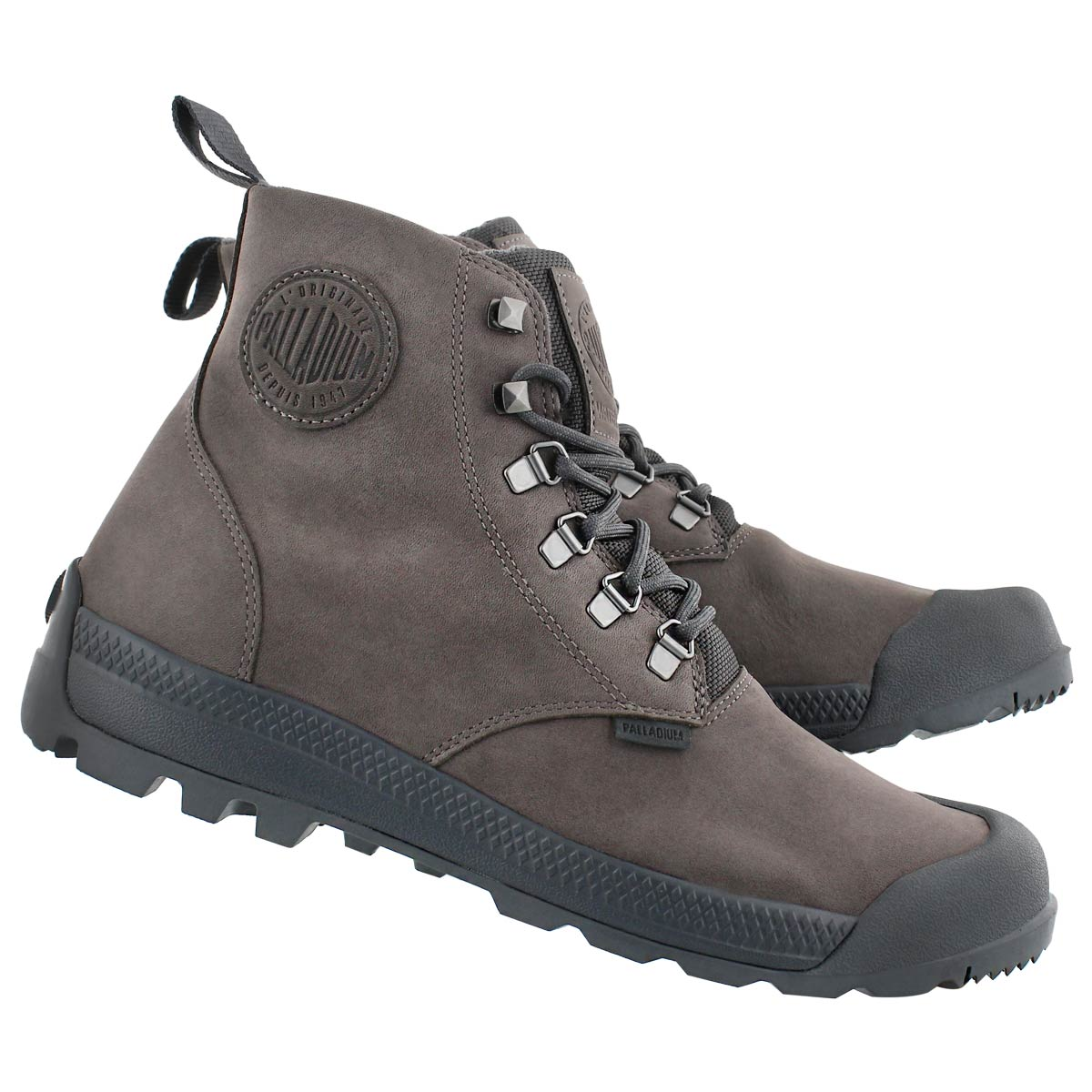 Mns Pampatech Hi grey wtpf ankle boot