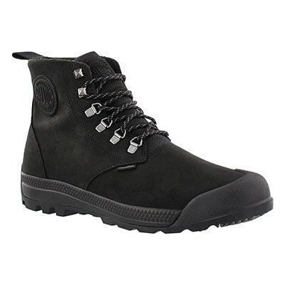 Palladium Men's PAMPATECH HI blk/blk waterproof ankle boots
