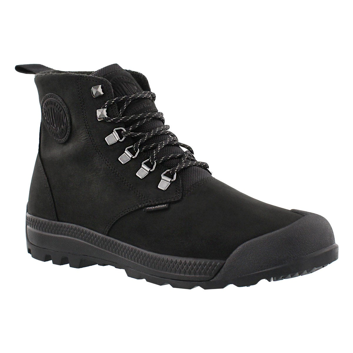 Men's PAMPATECH HI blk/blk waterproof ankle boots