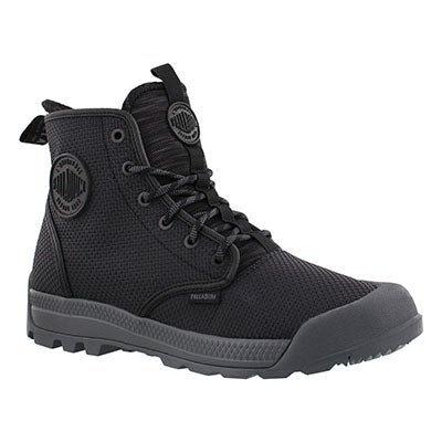 Mns Pampatech Hi blk/grey ankle boot