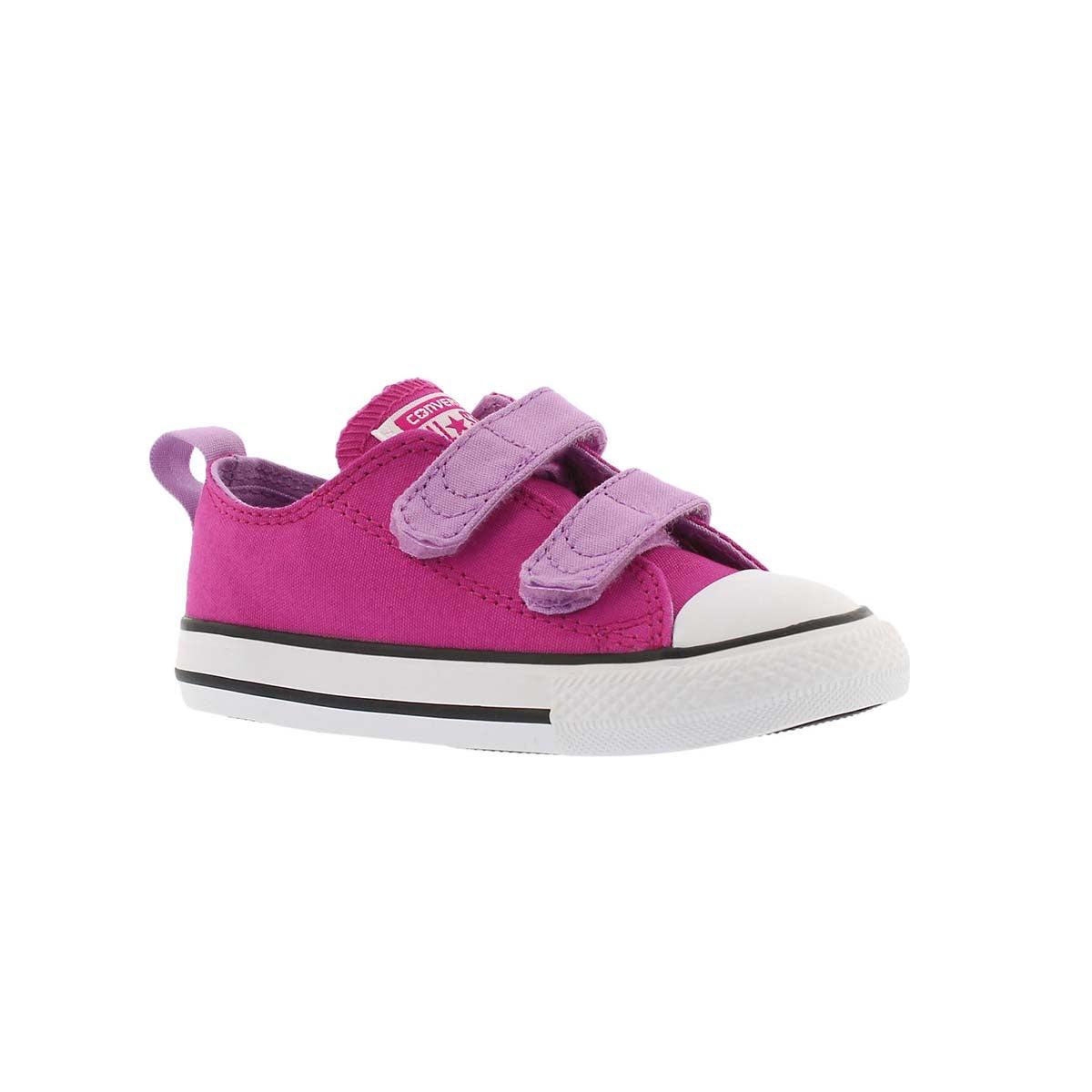 Infants' CT ALL STAR 2V magneta/fuschia sneakers