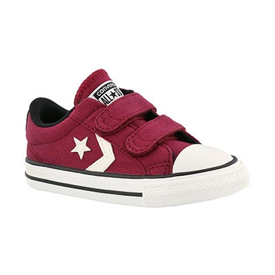 Converse Infants' CT STAR PLAYER 2V rhubarb sneakers