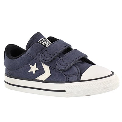 Converse Infants' CT STAR PLAYER 2V sharkskin sneakers