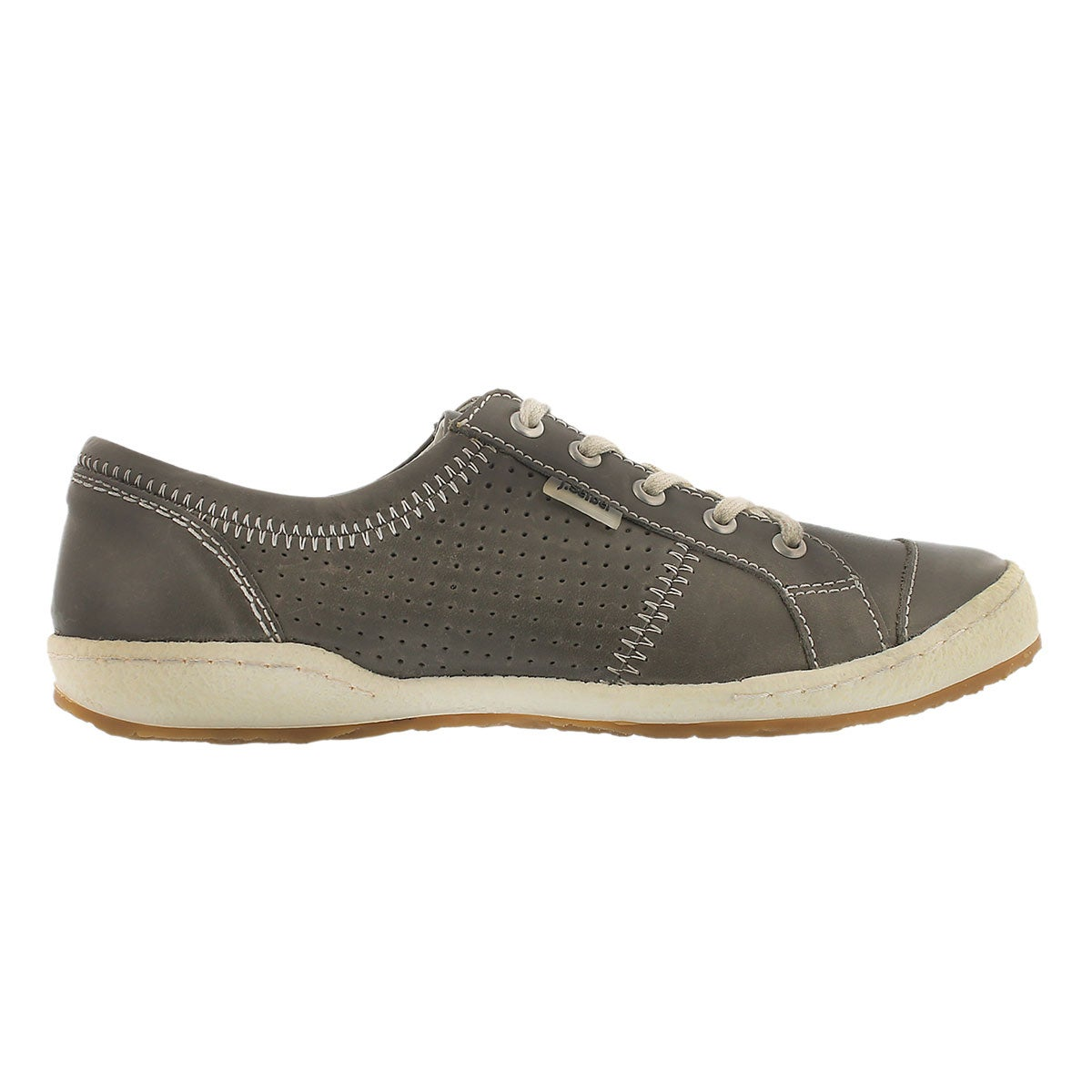 Lds Caspian grigio lace up shoe