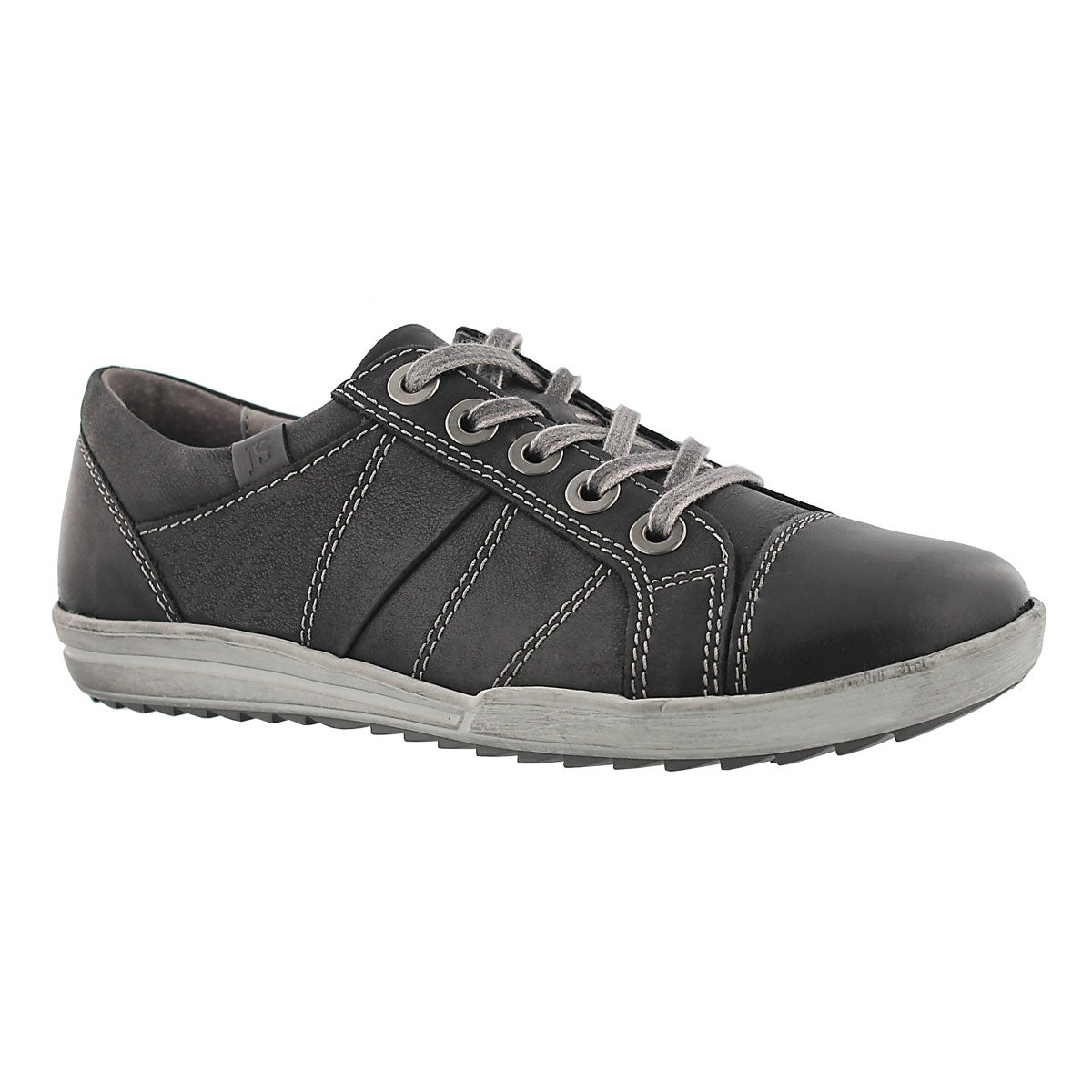 Women's DANY 05 black leather oxford sneakers